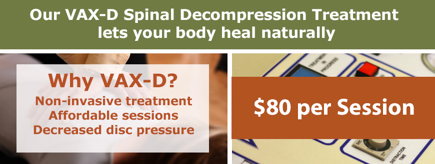 VAX-D Spinal Decompression $65 Treatment | Collier Chiropractic Naples, Fl