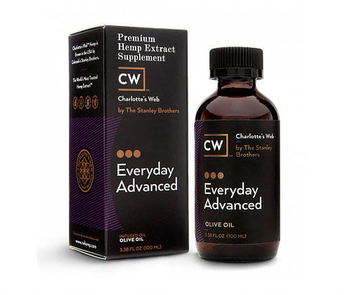 Charlotte's Web Everyday Advanced, Premium CBD Hemp Extract | Available at Collier Chiropractic in Naples and Ft. Myers, FL