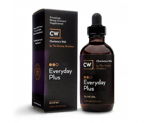 Charlotte's Web Everyday Plus, Premium CBD Hemp Extract | Available at Collier Chiropractic in Naples and Ft. Myers, FL