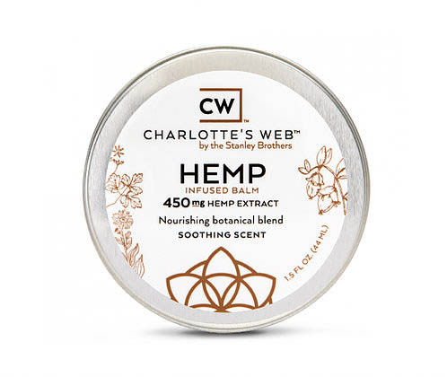 Charlotte's Web Hemp Infused Balm, Nourishing CBD Hemp Balm | Available at Collier Chiropractic in Naples and Ft. Myers, FL